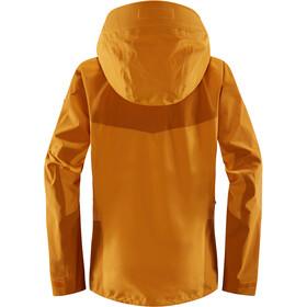 Haglöfs Spitz Jacket Dame Cloudberry/Desert Yellow